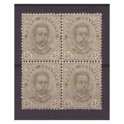REGNO 1891 -  UMBERTO I°...