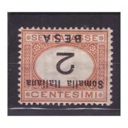 SOMALIA 1923 - SEGNATASSE...