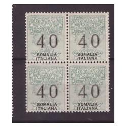SOMALIA  1926 - SEGNATASSE...