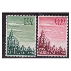VATICANO - 1958 POSTA AEREA...