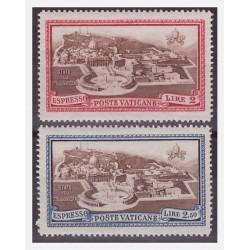 VATICANO 1933 - ESPRESSI...