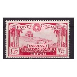 LIBIA 1931 V° FIERA DI...