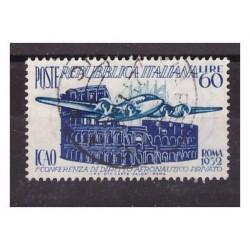 ITALIA 1952 - ICAO   USATO