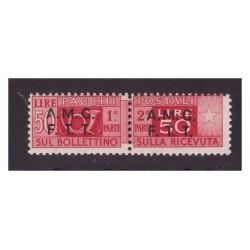 TRIESTE A - 1947  PACCHI...