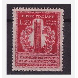 ITALIA 1949 - VOLTA LIRE 20...