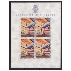 SAN MARINO 1965 - FOGLIETTO...