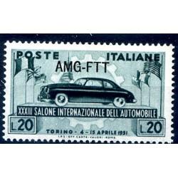 TRIESTE A - 1951  SALONE...