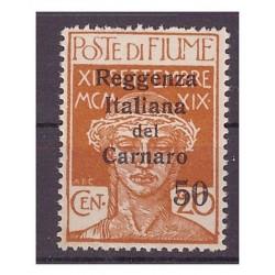 FIUME 1920 - REGGENZA DEL...