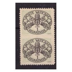 VATICANO - 1945 SEGNATASSE...