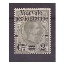 REGNO 1890 -   VALEVOLE...